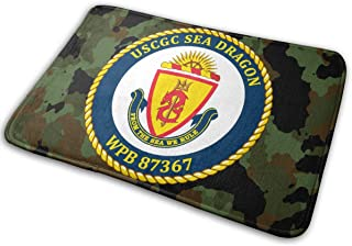 CHUANdi USCGC Sea Dragon WPB 87367 Door Mat Kitchen Mat Bathroom Mat