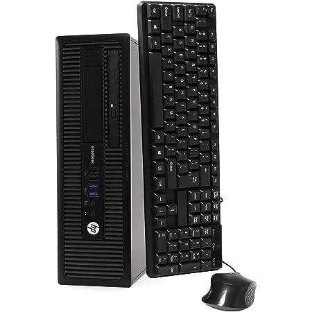 HP EliteDesk 800 G1 SFF High Performance Business Desktop Computer, Intel Quad Core i5-4590 upto 3.7GHz, 16GB RAM, 1TB HDD, 256GB SSD (boot), DVD, WiFi, Windows 10 Professional (Renewed)
