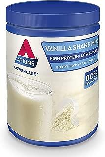 Atkins Advantage Vanilla Low Carb Shake Mix 370 g (10 Servings)