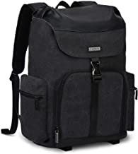CADEN Professional Waterproof DSLR Camera Backpack Bag Canvas with Laptop Compartment 15.6