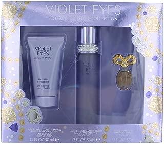 Women's Violet Eyes by Elizabeth Taylor Fragrance Gift Set - 3 pc