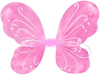 Butterfly Craze Fairy Butterfly Wings Party Favor (pink)