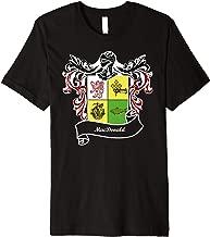 MacDonald Coat of Arms surname last name family crest Premium T-Shirt
