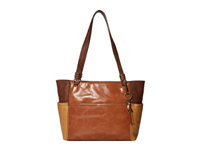 The Sak Sequoia Tote (Scotch Block) Handbags