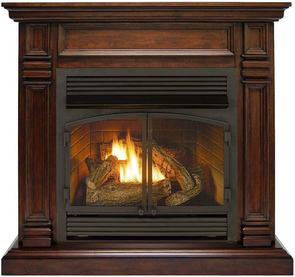 Columbus Mall Duluth Forge FDF400RT-ZC Dual Inventory cleanup selling sale Fuel 000 Ventless BTU Fireplace-32