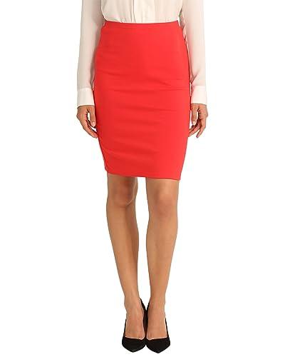 4a65a2a81 Falda Roja Mujer: Amazon.es