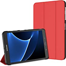 "JETech Case for Samsung Galaxy Tab A 10.1"" (SM-T580 / T585), Smart Cover with Auto Sleep/Wake (Red)"