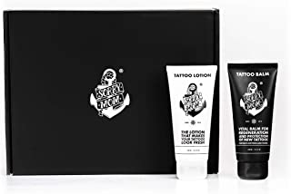 Sorry Mom Tattoo Aftercare Kit - Fragrance Free Tattoo Balm and Lotion Loaded with Vitamin E for Lasting Hydration and Long-Term Aftercare | Trusted by Tattoo Professionals Worldwide | 100 ml Each