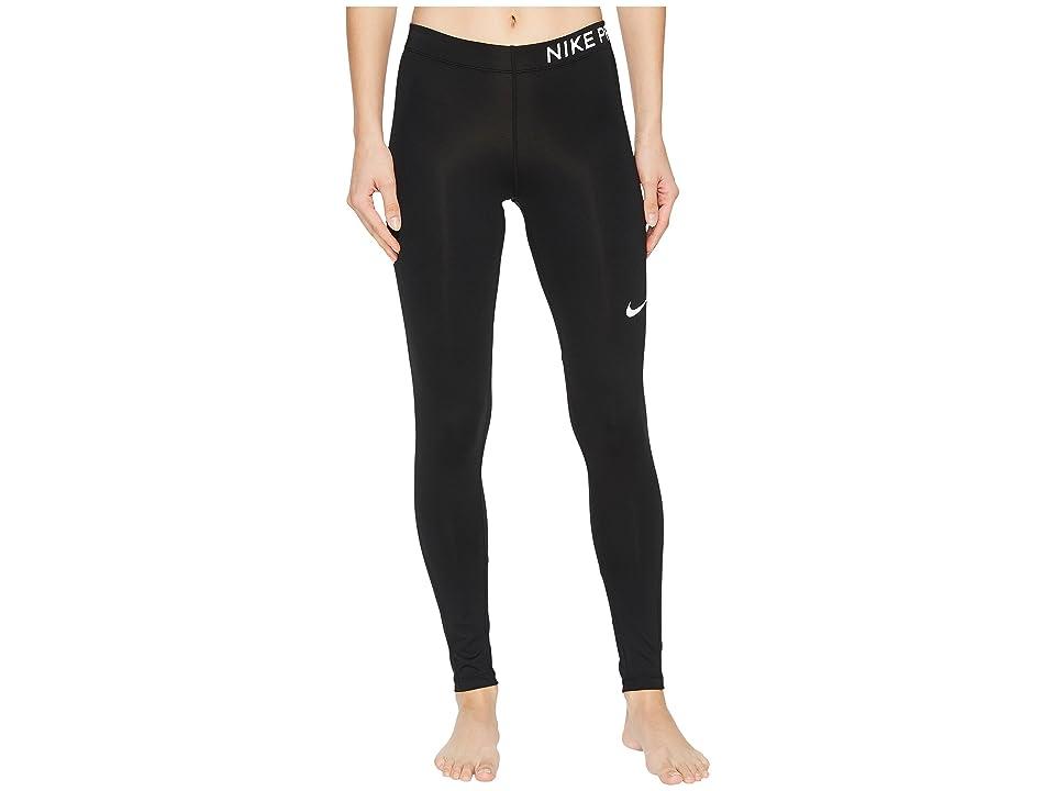 Nike Pro Training Tight (Black/White) Women