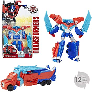 Transformers Robots in Disguise Warrior Class Power Surge Optimus ...