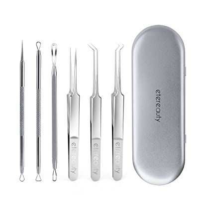 Blackhead Remover, ETEREAUTY 6-in-1 Stainless S...