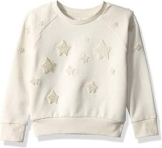 Girls' Big Long Sleeve Pullover Sweater