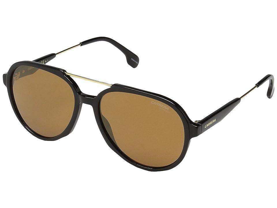 Carrera Carrera 1012/S (Black/Brown Gold Mirror) Fashion Sunglasses