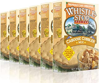 Original WhistleStop Cafe Recipes | Caboose Cobbler Batter Mix | 9-oz | Case of 6