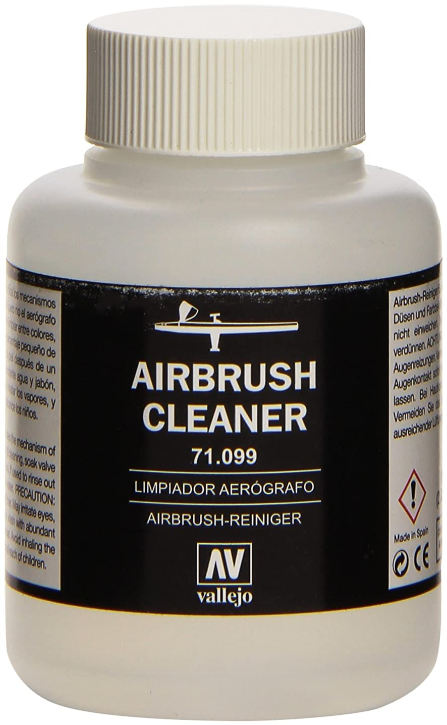 Vallejo Airbrush Cleaner 85ml Paint