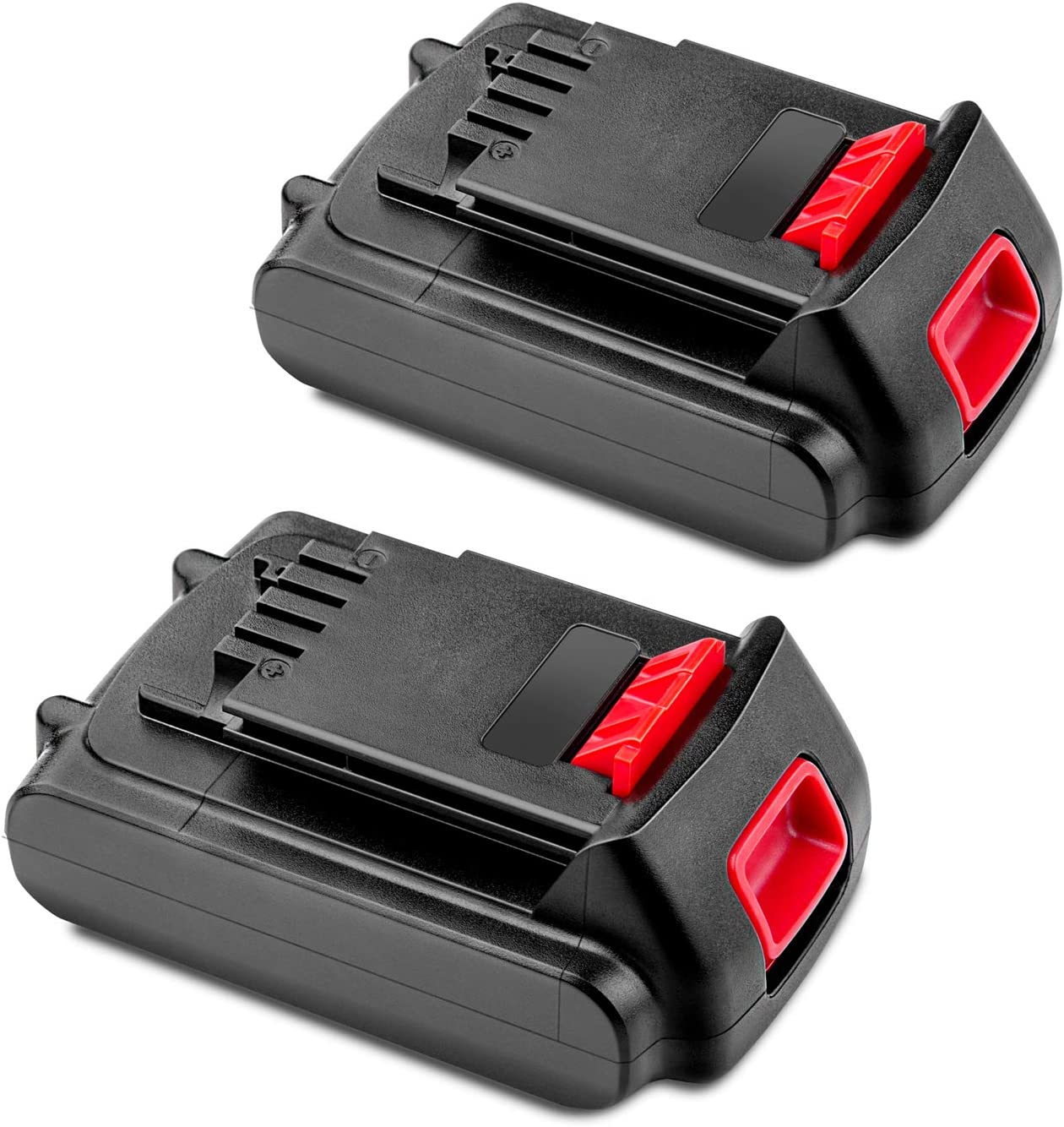 Oakland Mall 2 Pack Cordless-Tool-Battery-Packs for Black 20V Max Al sold out. Decker
