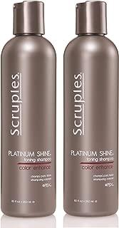 Scruples Platinum Shine Shampoo, 8.5 Ounce Pack of 2
