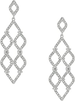Swarovski - Lace Chandelier Pierced Earrings