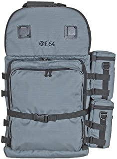 F.64 BPX Grey - Ex. Large Professional Photography Backpack - for SLR DSLR Multiple Lenses Camera Accessories Water Proof Rain Cover Gear Travel Gadget Padded Waterproof Digital