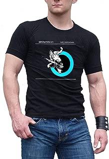 Men's Operation Ivy Poster Black Cotton T Shirt/Tee