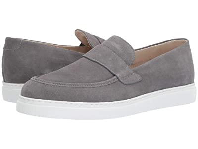 Canali Loafer with Tennis Sole (Grey Suede) Men