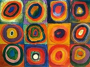 kandinsky circles poster