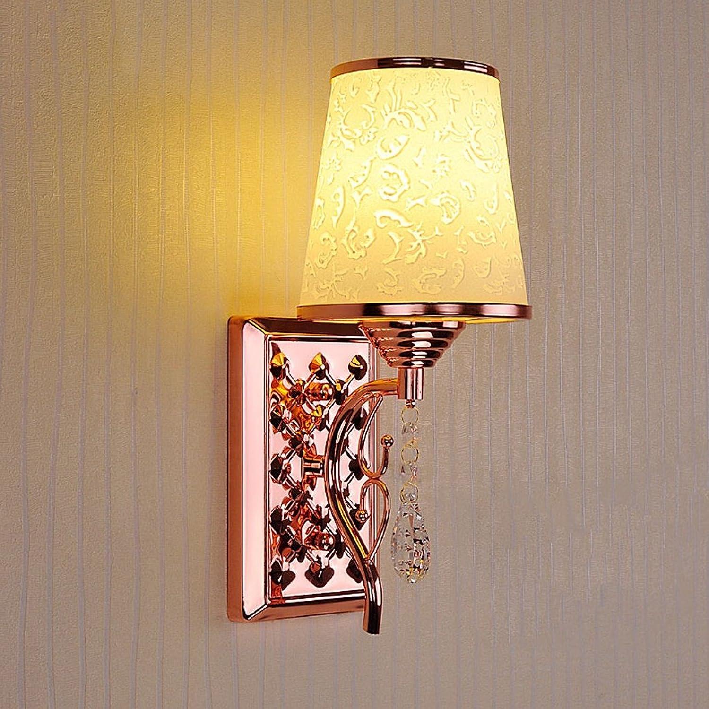 QFF Kreative Pers5onlichkeit-romantische Wrme-Art- und Weiseeinfache Wand-Lichter einzelne Haupt-   doppelte Hauptbeleuchtung (gre    1)