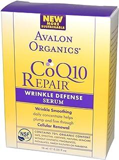 Avalon Organics CoQ10 Wrinkle Defense Serum 55 oz