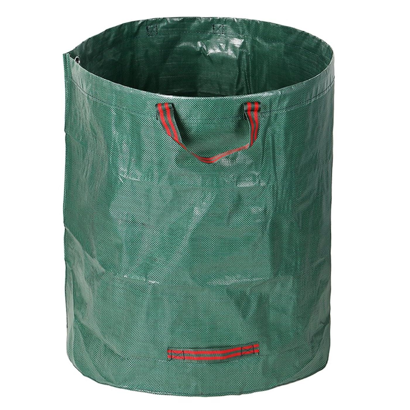 わかりやすい用量ラジカルbluecookie_jp ガーデンバッグ ガーデンバケツ 大容量 自立式 折り畳み 丈夫 収納専用バッグ 収穫袋 集草バッグ 園芸用 お庭の清掃 グリーン