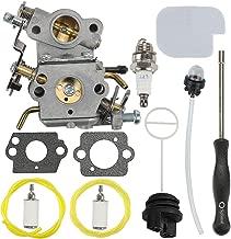 Mckin C1M-W26C 545070601 Carburetor + Fuel Cap + Air Filter Adjustment Tool fits Poulan Pro PP3416 PP3516 PP3516AVX PP3816 PP3816A PP4018 PP4218 PP4218A PP4218AVX PPB3416 SM4218AV SM4218AVX Chainsaw
