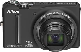 NikonデジタルカメラCOOLPIX S9100 ノーブルブラック S9100BK