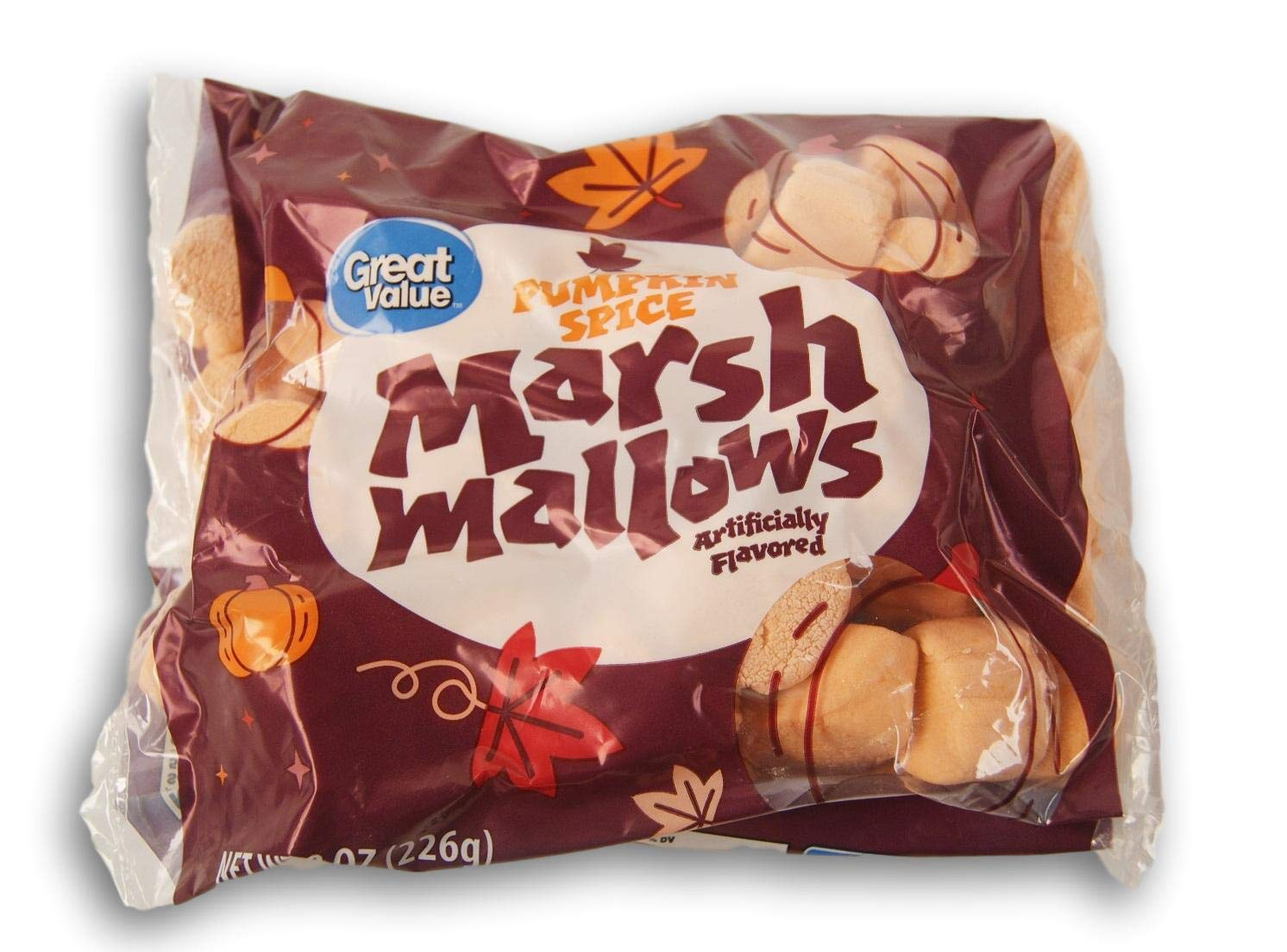 Halloween Max 57% OFF Pumpkin Spice 2021 spring and summer new Shaped 8 Flavored Oz - Marshmallows