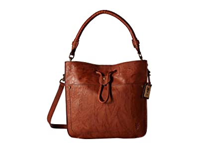 Frye Demi Hobo (Whiskey Antique Soft Vintage) Hobo Handbags