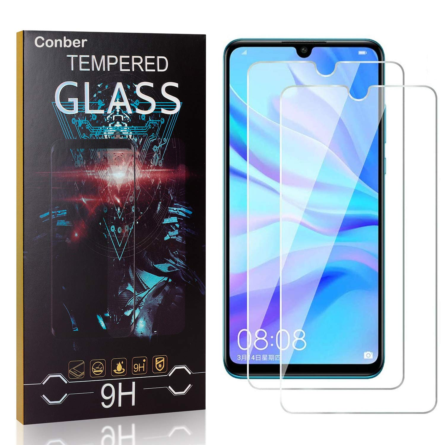 Conber Screen supreme Protector for Huawei Enjoy Temper 10S 9H Pack Max 59% OFF 2