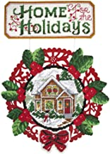 Herrschners® Home for The Holidays Wall Hanging Plastic Canvas Kit
