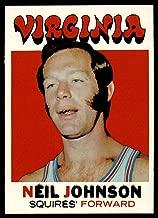 1971-72 Topps #216 Neil Johnson NBA Basketball Card EX/NM