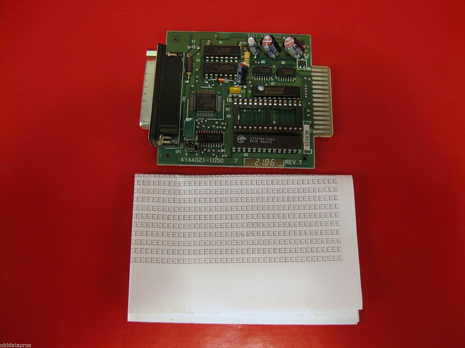 Oki Products - Oki - Internal RS-232C Interface for Okidata Microline ML-320/321/520/521/590/591 - Sold As 1 Each - Supports Ready/Busy/X-On/X-Off protocols - Compatible with ML320/321/390/391/420/421/490/491/520/521/590/591 series printers. - Can be conf