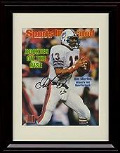 Framed Dan Marino Sports Illustrated Autograph Replica Print