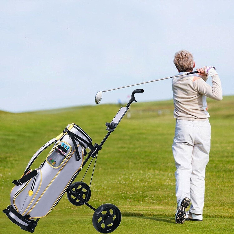 LINMOUA Golf Cart Foldable NEW 2 Wheel PP EVA Pull + Push 2021 spring and summer new