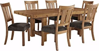 Ashley Furniture Signature Design - Tamilo 7-Piece Dining Room Set - Includes Rectangle Extension Table & 6 Side Chairs