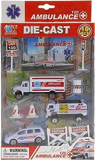 Camion Ambulanza Giocattolo Con Luci Suoni Valigetta Dottore Portatile Accessori