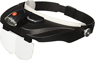 Carson Optical Pro Series MagniVisor Deluxe Head-Worn LED