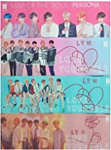 Fansisco BTS Bangtan Boys BTS Army Love Yourself Answer Support Banner and Map of The Soul Persona Bunting Garland for BTS Party Concert Flag (BTS-4 Pack)