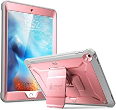 SupCase [Unicorn Beetle Pro Series Case Designed for iPad 9.7 2018/2017, with Built-in Screen Protector & Dual Layer Full Body Rugged Protective Case for iPad 9.7 5th / 6th Generation (Rosegold)
