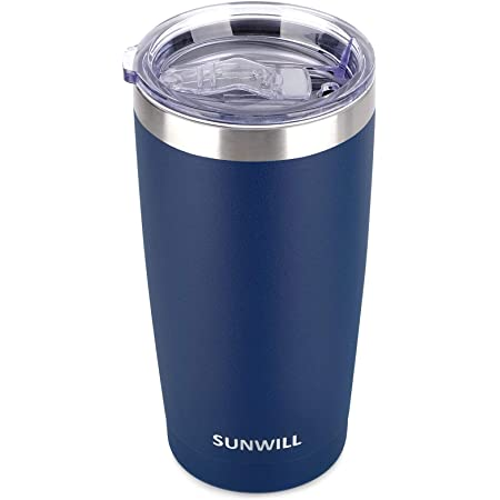 20 Oz Tumbler-Rambler Water Bottle-Gifts for Her Double Wall Vacuum Insulated Coffee Mug Cupbase Drinkware Camping Traveling 22 Thermal Coffee Travel Cup for Hiking Stainless Steel Water Lid