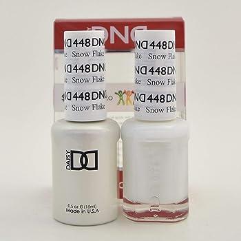 DNDDuo Gel (Gel & Matching Polish) Spring Set 448 - Snow Flakes