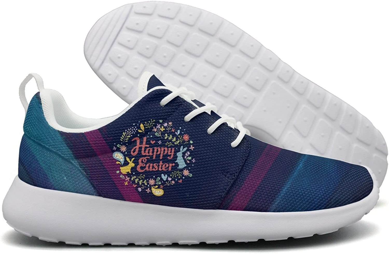 Happy Easter Day Women Flex Mesh Running shoes