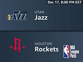 Utah Jazz vs. Houston Rockets