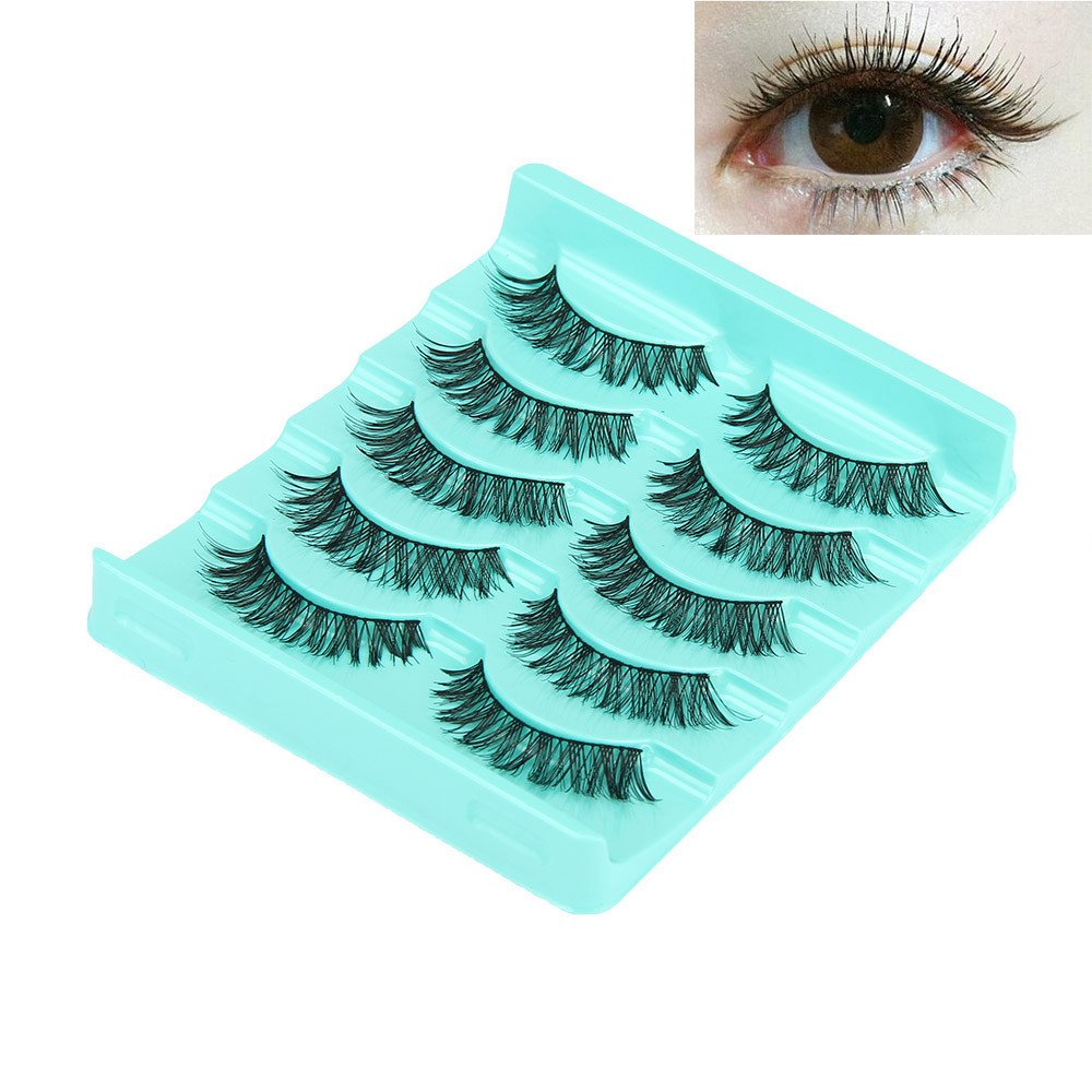 False eyelashes natural look Popular products wispies Big 5 Lot Boston Mall sale Pair Crissc