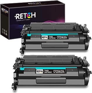 RETCH Compatible Toner Cartridge Replacement for HP 26A CF226A 26X CF226X for Laserjet Pro M402dn M402n M402d M402dw Laserjet Pro MFP M426dw M426fdw M426fdn Printer (2 Pack)